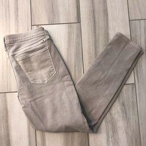 Lucky brand gray Brooke skinny jeans